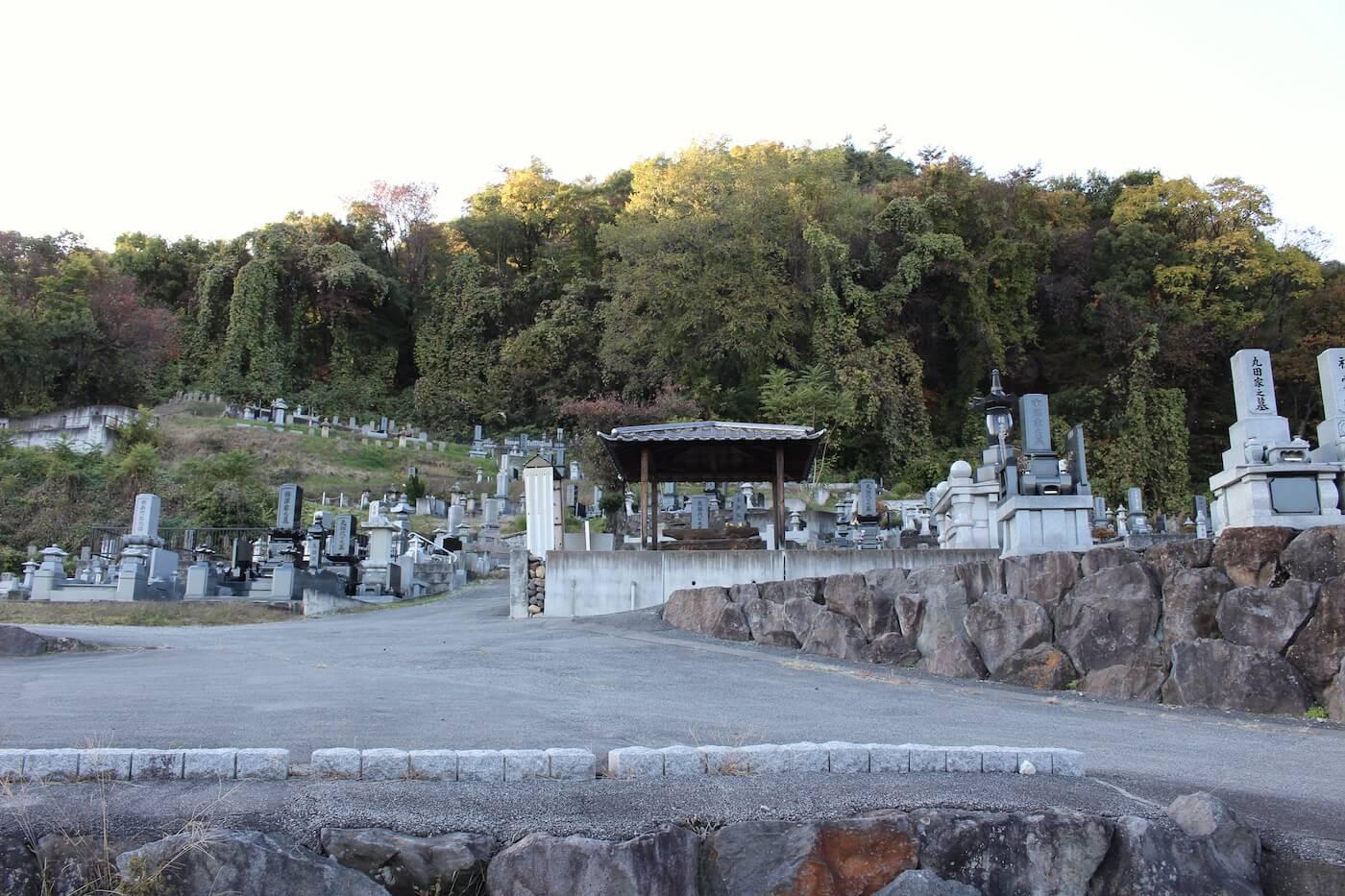 真蔵寺墓地の一般墓