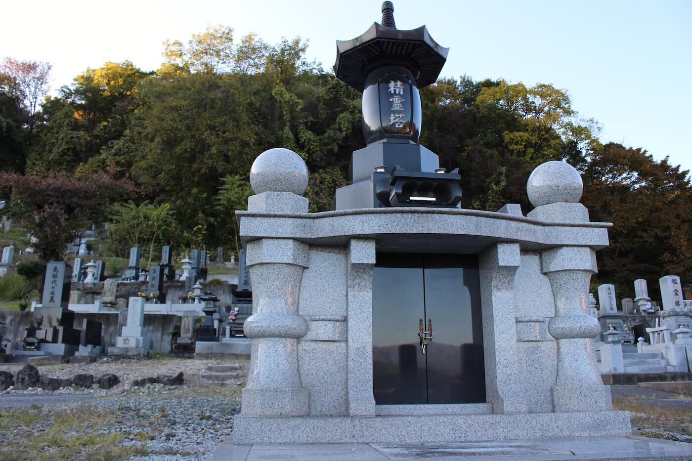 真蔵寺墓地の永代供養墓