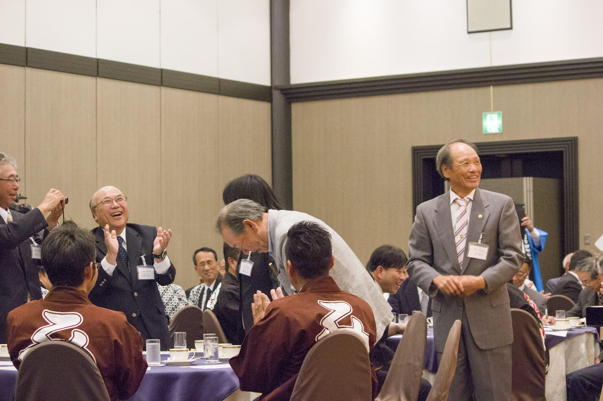 第15回 「あなたのまちへお神輿贈呈」受賞者の上田市山口自治会の皆様