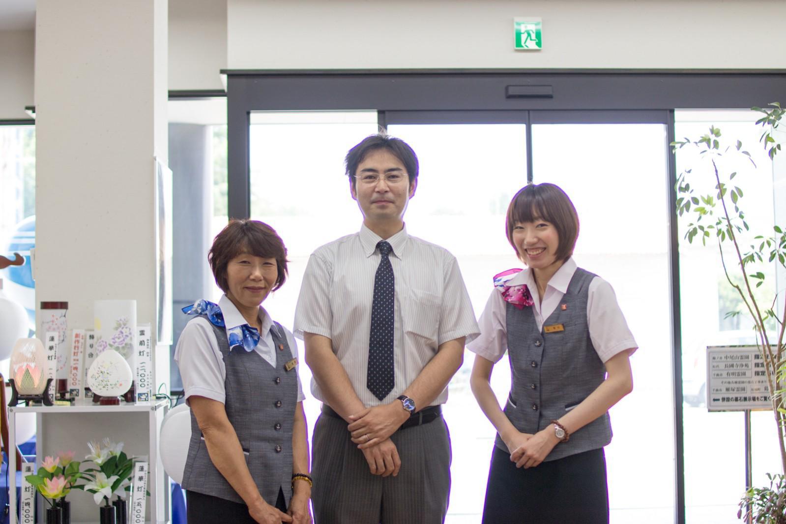 一休さんのはなおか 川中島店のスタッフ