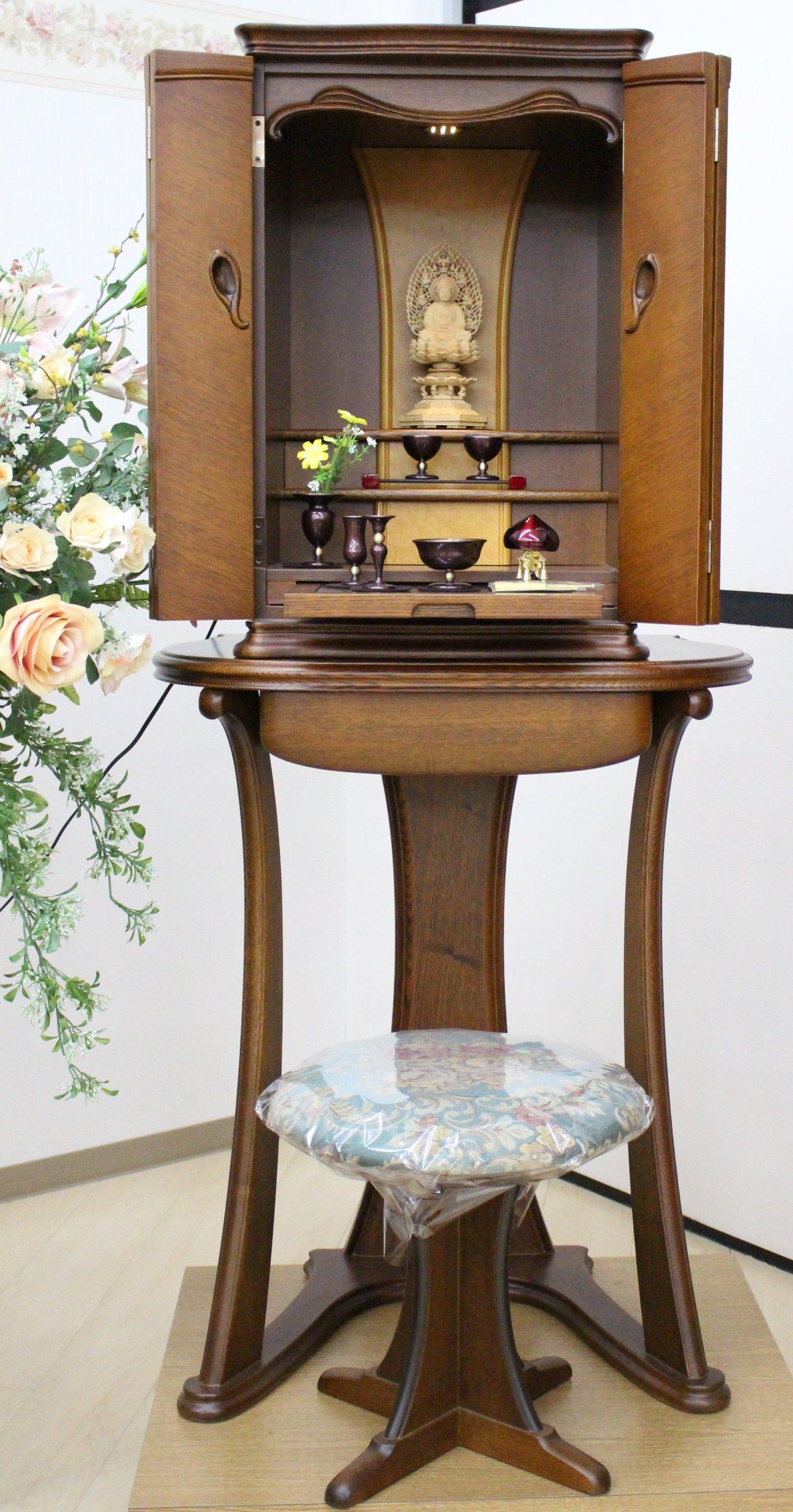 モダンなデザインのお仏壇