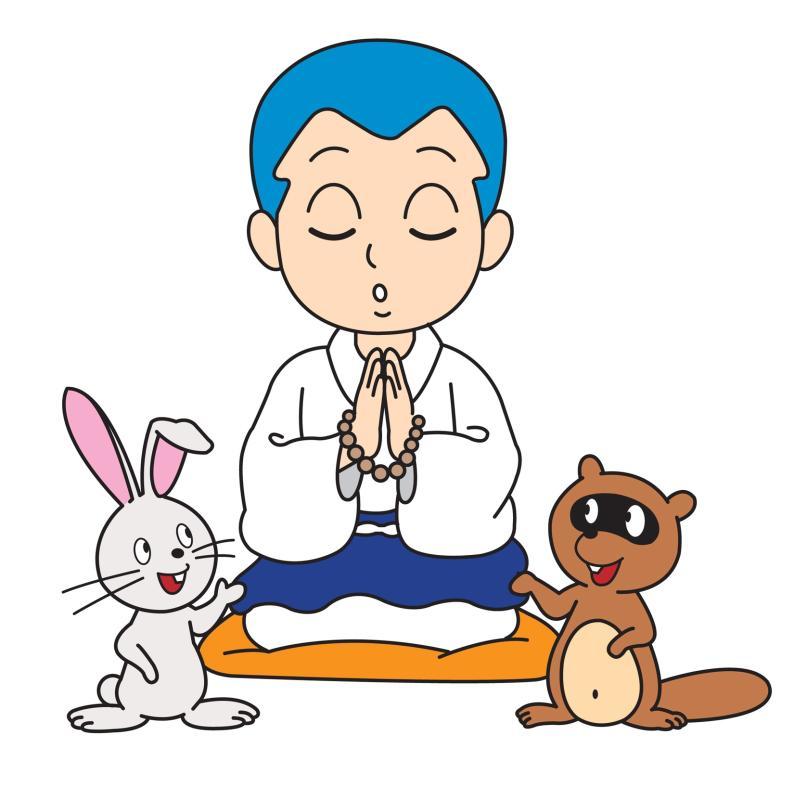 お仏壇の一休さんのはなおか キャラクター