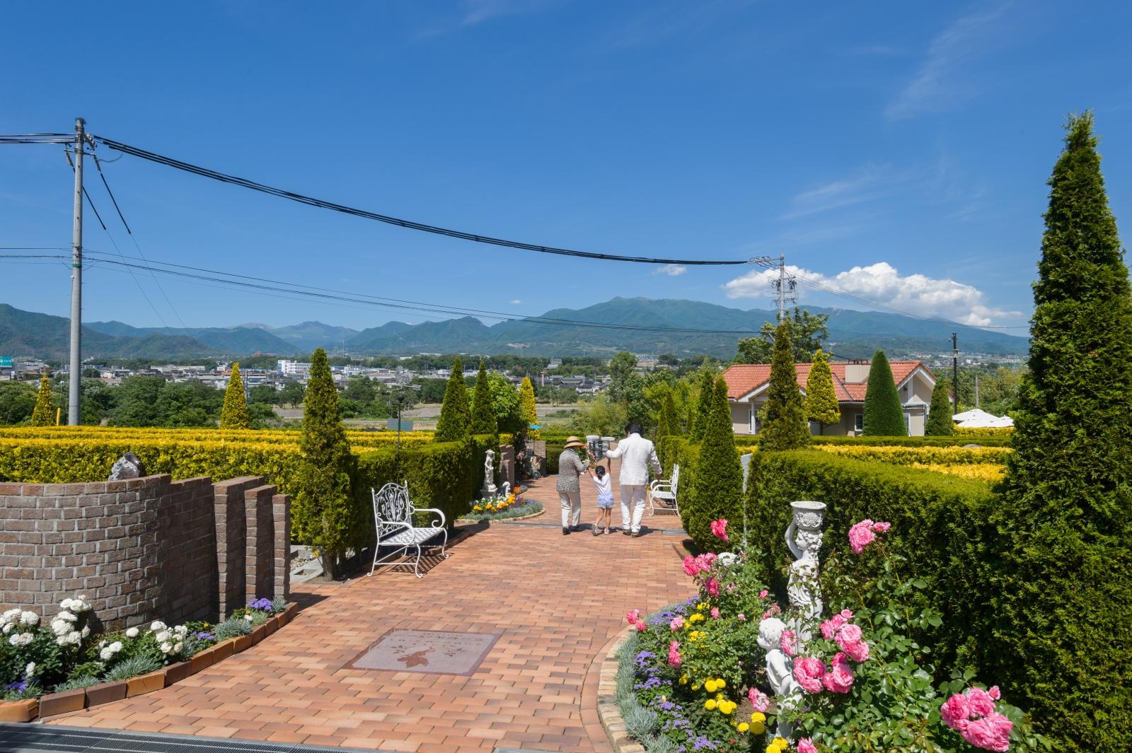 上田市の霊園 エンゼルパークのイメージ